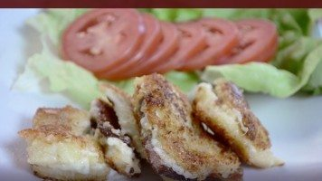 Croquettes de grilled-cheese au bacon